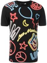 Love Moschino neon print T-shirt