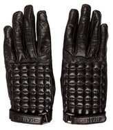 Chanel Leather Quilted Gloves