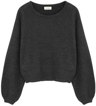 American Vintage Mitibird Dark Grey Fine-knit Jumper
