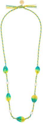 Venessa Arizaga moonlight shell necklace