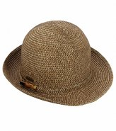 Sun N Sand Dorset Bamboo Trim Straw Fedora 48689
