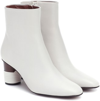 Souliers Martinez Asturias leather ankle boots