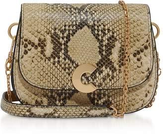 Coccinelle Craquante Stone Shoulder Bag