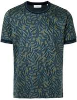 Cerruti tropical-pattern T-shirt