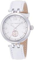 Ted Baker Women's 10023474 Classic Analog Display Japanese Quartz White Watch