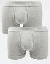 Calvin Klein 2 Pack Cotton Trunks