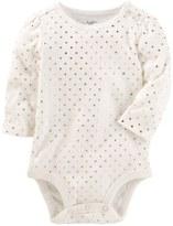 Osh Kosh Baby Girl Heart Print Bodysuit