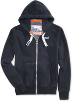Superdry Men's Orange Label Zipper Hoodie