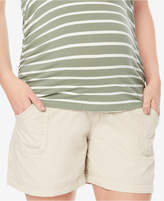 Motherhood Maternity Secret Fit Belly Cargo Shorts