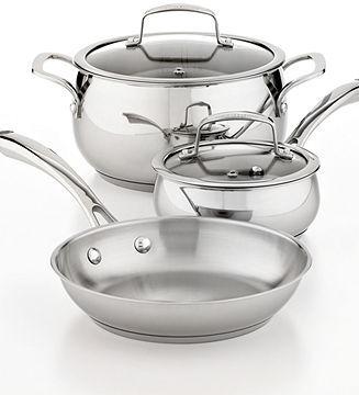 Belgique Stainless Steel 5 Piece Cookware Set