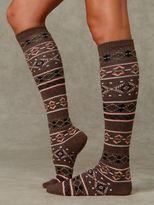 Free People Navajo Knee Sock