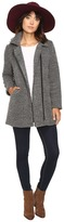 BB Dakota Kantor Boucle Zip-Up Coat