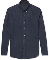 J.crew - Slim-fit Button-down Collar Linen Shirt