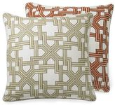 Arabesque Gate Printed Linen Pillow