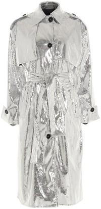 MSGM Belted Trech Coat
