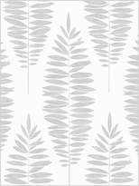 Boutique Lucia White and Silver Wallpaper – 10 metre roll