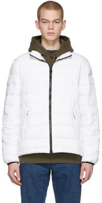 The Very Warm Off-White Liteloft Puffer Jacket