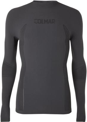Colmar Logo-Intarsia Dryarn Ski Base Layer