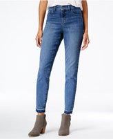 Style&Co. Style & Co. Petite Released-Hem Pacific Wash Skinny Jeans, Only at Macy's
