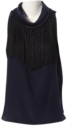Altuzarra Blue Silk Top for Women