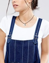 Monki Yin Yang Choker Necklace