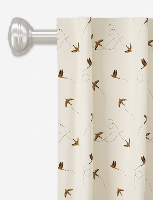 Lulu & Georgia Rylee + Cru Curtain Panel, Sparrow