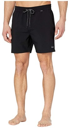 Hurley 17 One Only Volley Boardshorts (Black) Men's Swimwear