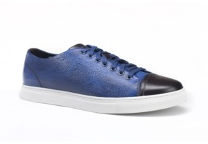 Belvedere Men's Abreno Cap Toe Lace Up Sneaker Men's Shoes