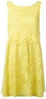 P.A.R.O.S.H. lace flared dress - women - Cotton/Polyamide/Polyester/Viscose - XS
