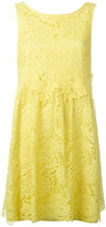 P.A.R.O.S.H. lace flared dress