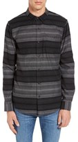 Ezekiel Wylie Trim Fit Stripe Woven Shirt