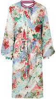 Circus Hotel floral printed shirt dress