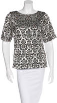 DAY Birger et Mikkelsen Embellished Brocade Top