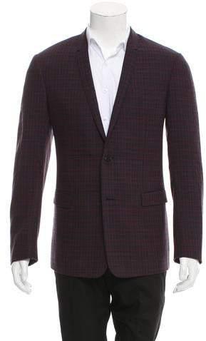 Christian Dior Two-Button Virgin Wool Blazer