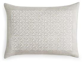 Vera Wang Center Embroidery Decorative Pillow, 12 x 16