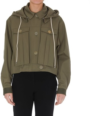 Loewe Notch Lapel Denim Jacket