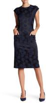 JET Textured Pattern Pocket Dress