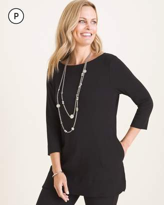 Chico's Chicos Petite Supima Cotton Tunic