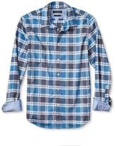 Banana Republic Camden-Fit Custom Wash Check Shirt