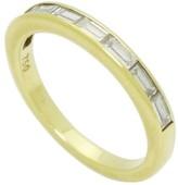 Tiffany & Co. 18K Yellow Gold Baguette Diamond Wedding Band