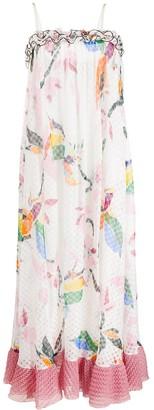 Missoni Ruffle-Trim Floral Maxi-Dress