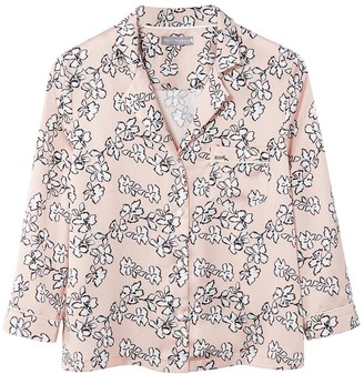 Pretty You London Mix & Match Floral Shirt In Blush Pink - Shirt Only