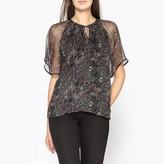 Ikks Printed Voile Blouse