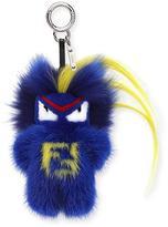 Fendi Fendirumi Micro Monster Charm, Blue/Multi