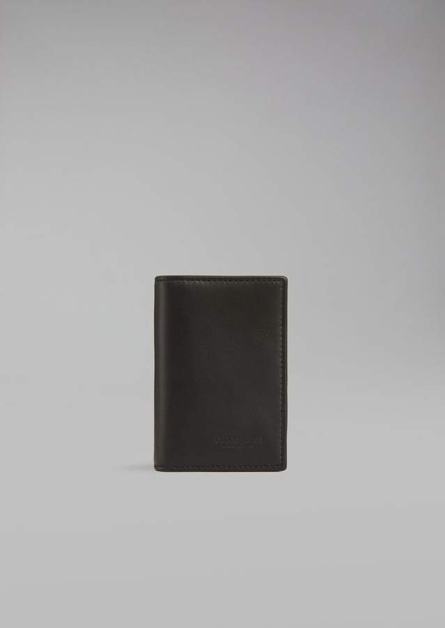 Giorgio Armani Leather Cardholder