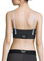 Heroine Sport Rib-Knit Sports Bra
