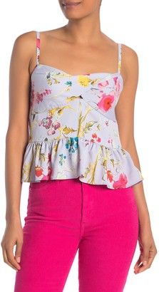 Rachel Roy Flora Corset Shirt (Regular & Plus Size)