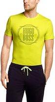 HUGO BOSS Mens Short Sleeve T-shirt 'Tee 1' in cotton