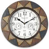 Slate Indoor/Outdoor Wall Clock