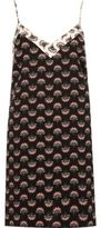 River Island Womens Black floral print cami slip dress